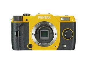 "PENTAX Q7 (11543) Yellow 12.4MP 3.0"" 460K LCD Lens-interchangeable SL Digital-still Camera - Body"