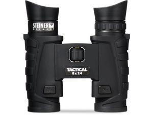 New Steiner 8x24 T24 Tactical Binoculars, Charcoal