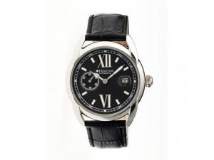 Heritor Automatic Hr1803 Burnell Mens Watch, Black