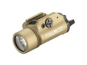 Streamlight TLR-1 HL, High Lumen Rail Mounted Tactical Light, Flat Dark Earth, C4 LED 800 Lumens With Strobe, 2x CR123 B