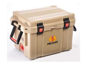 Pelican 45QW Elite Wheeled Cooler,19x12x12in,Outdoor Tan
