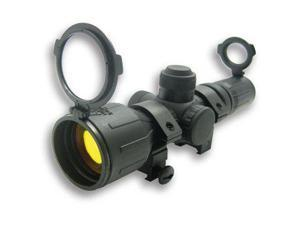 NCStar 3-9x42 Illuminated Red Green Compact Rifle Scope SEECR3942R