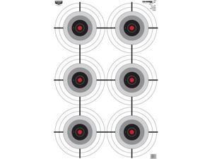 Birchwood Casey Eze-Scorer Multi-Bulls-Eye 23in. x 35in. Target, Per 100 191019