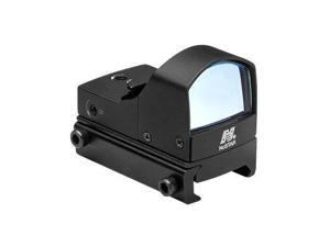 NcSTAR Tactical Red Dot Sight, Black w/ On/Off Switch, Micro Green Dot Reflex Op