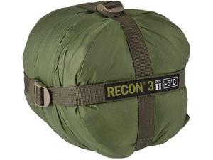 Elite Survival Systems Recon 3 Sleeping Bag, Olive Drab, Rated to 23 Degrees Fah