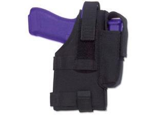 Elite Survival Systems Belt Holster, Right Hand, Black - Most 5in BBL 7681-RH