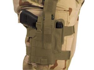 Elite Survival Systems Thigh Holster, Right Hand, Coyote Tan - Beretta 92/96 w/L