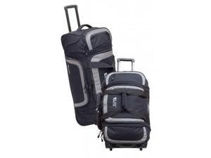 Elite Survival Systems Travel Prone All-Aboard Rolling Gear Bag, Black/Gray 6001