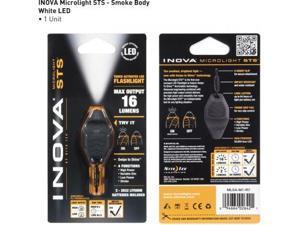 Inova Microlight Swipe To Shine Key Light - Smoke/Black
