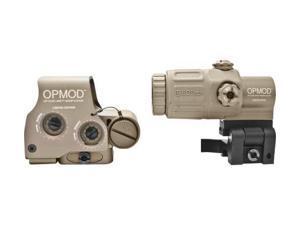 OPMOD EOTech Hybrid Sight IOP Holosight w/ 3X G33 Magnifier, Tan