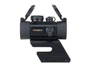 TruGlo IRM 30mm Waterproof 1 MOA Unlimited Eye Relief Red Dot Sight, Black