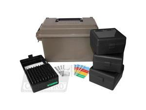 MTM 223 Ammo Can 400 Round w/ 4 each RS-100s, Dark Earth