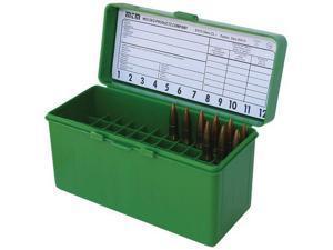 MTM Case-Gard 60 .22-250 to .308 Winchester Green