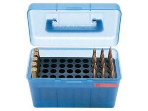 MTM H50 Ammunition Box .264 to .458 Winchester Magnum Blue
