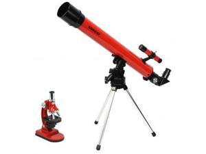 Tasco 50x50 Refractor Telescope & Microscope Combo Kit, New