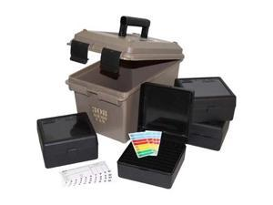 MTM 308 Cal Ammo Can includes 4 RM-100's, Dk Earth, large