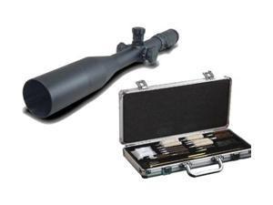 Millett LRS-1 6-25x56 .1 Mil Click Ill Reticle Long Range Riflescope and Hoppes