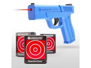 Laserlyte Laser Training Kit, Includes Includes Trainer Trigger Tyme Laser Full Size Pist & 3 Reaction Tyme Targets TLB-