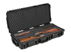 SKB Cases iSeries 3614 Double Custom Breakdown Shotgun Case, Black, 39 3/4 x 17