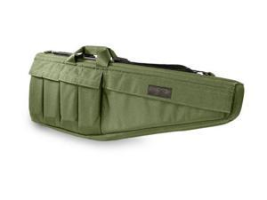 Elite Survival Systems Rifle Case, 45in., Olive Drab, Coyote Tan, 9