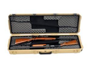 SKB Cases iSeries 5014 Double Rifle Case, Tan, 53 1/8 x 17 1/4 x 7