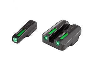 Truglo Brite-Site TFX, Sight, Fits CZ 75 Series, Tritium /Fiber-Optic, Day/Night Sight, 24/7 Brightness TG13CZ1A