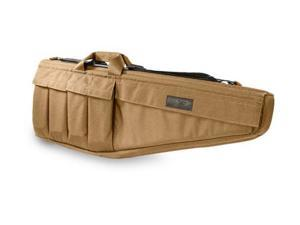 Elite Survival Systems Rifle Case, 41in., Coyote Tan, Fits AR15 Sporter, M16, HK