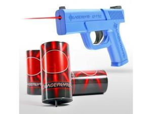 Laserlyte Laser Training System, Includes Includes Trainer Trigger Tyme Laser Compact Pistol and 3 Plinking Cans TLB-LCK