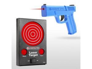 Laserlyte Bullseye, Laser Training Kit, Includes Trainer Trigger Tyme Laser Full-Size Pistol and Laser Trainer Target TL
