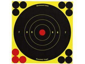 Birchwood Casey Shoot-N-C Targets- Bulls-Eye, 6in., Per 1000 77069