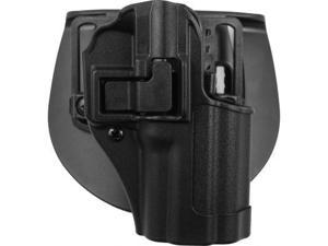 BlackHawk SERPA CQC Holster w/Belt Loop and Paddle,Matte Black,Right,HK SFP9/VP9