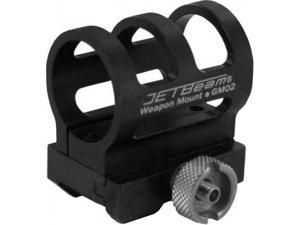 JETBeam GM-02 Gun Weapon Mount for Raptor RRT-2, Black