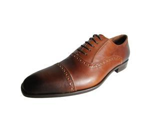 Donald J. Pliner Men's 'Sachar' Leather Tapered-Toe Oxford