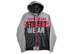 Vision Street Wear Men's 'Vortech Zip' Designer Hoodie