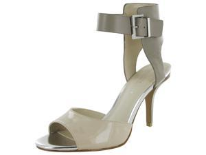 Kenneth Cole 'Tami' Leather Open Toe Ankle Strap Heel Shoe
