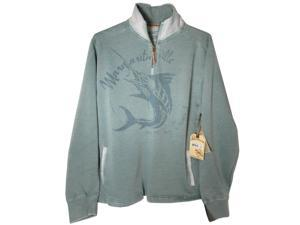 Margaritaville Men's 'Porto' 1/4 Zip Pullover Shirt