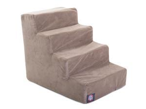 Majestic Pet 4 Step Stone Suede Pet Stairs - 78899567511