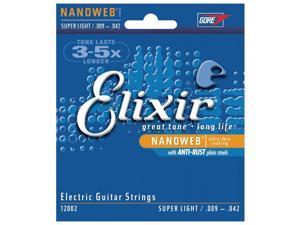 Elixir Nanoweb Electric Super Light 9-42 strings