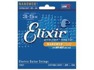 Elixir Nanoweb Electric Custom Light 9-46 strings