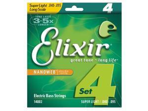 Elixir Nanoweb Bass strings 40-95 Super Light/Long Scale