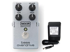 MXR M-89 Bass Overdrive w/ 9v power supply