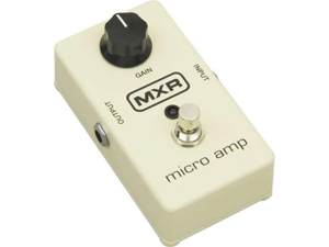 MXR M133 Micro Amp Guitar Effects Pedal M-133 NEW