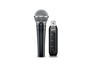 Shure SM58-X2u Dynamic Vocal Mic w/ XLR-to-USB Interface PC MAC NEW FREE SHIP