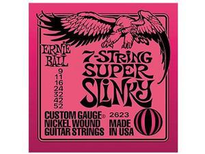 Ernie Ball 2623 7 String Super Slinky Electric Guitar Strings NEW