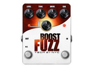 TECH 21 Boost FUZZ  Effect Stomp Box Analog Guitar Pedal BST-F NEW