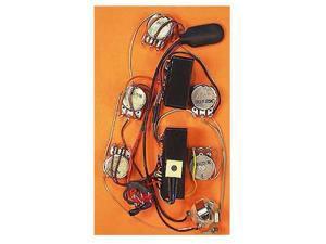 Bartolini HR5.4AP/918 Preamp Harness - Volume Blend Mid Treble Bass NTMB-918F