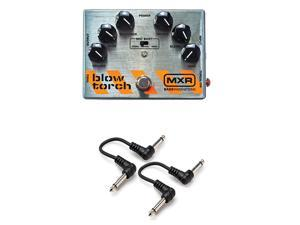 "MXR M181 Blowtorch Overdrive Distortion Effect pedal with 2 Free 6"" Cables NEW"
