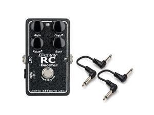 """Xotic BASS RC Booster Effects Pedal with 2 FREE 6"""" Cables"""