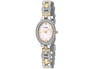 Pulsar Ladies Crystal Women's Watch - PEGA91