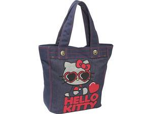 Loungefly Hello Kitty Red Heart  Sunglasses Tote